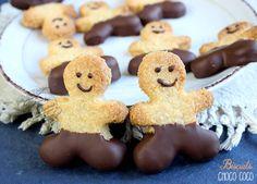 briscuits croustillants chocolat noix de coco