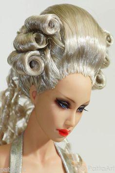Historical #6.R18 hard cap wig Sybarites V1 V2 Numina JAMIEshow doll - PattaArt