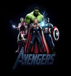 The Avengers Characters iPad Wallpaper