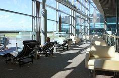 The stunning Schengen Business Lounge at Latvia Riga - International Terminal E