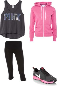 Work Out Gear, created by jamie-preston on Polyvore