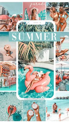 Summer Feed Instagram, Instagram Feed, Beachy Wallpaper, Good Photo Editing Apps, Professional Lightroom Presets, Ideas For Instagram Photos, Foto Pose, Photo Wall Collage, Tropical