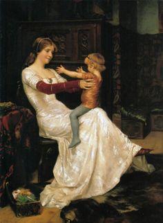"Drottning Blanka"" by Albert Edelfelt, 1877"