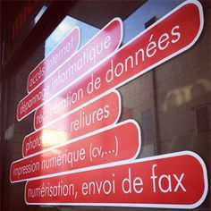 Dans notre agence, accueil NTIC Le Havre