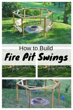 With this DIY, you can wonderfully spend summer evenings with family and friends around the fire pit. Also, a great addition on your backyard.