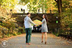 Central Park Engagement Photos   Michelle & Adam - the lookback