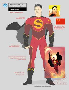Images for : First Look at DC Rebirth Designs For Bizarro, Red Robin, Batman Beyond & More | Comic Book Resources