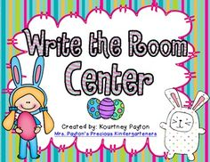 Addition Write the Room Center Freebie - Easter Themed!