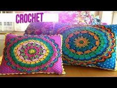 Crochet Mandala Pillow Beautiful 47 Ideas Knitting ProjectsKnitting For KidsCrochet PatternsCrochet Amigurumi Crochet Owl Pillows, Crochet Pillow Cases, Crochet Cushion Cover, Granny Square Häkelanleitung, Granny Square Crochet Pattern, Crochet Round, Afghan Crochet, Owl Pillow Pattern, Pillow Patterns