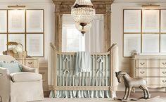 Elegant nursery room design