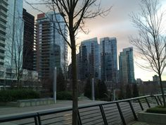 Downtown Vancouver nel Vancouver, BC