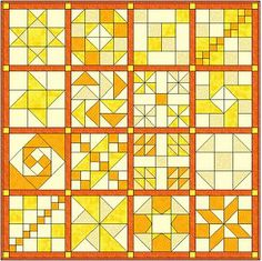 Block of the Month Sew Katie Sew's Sampler