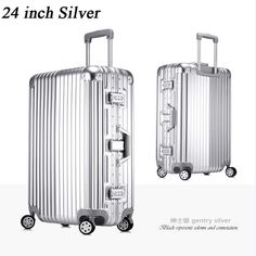 """New Style 20"""" 24"""" 26"""" or 29'' Large Capacity Suitcases, Hard Side - Women's or Men's"""