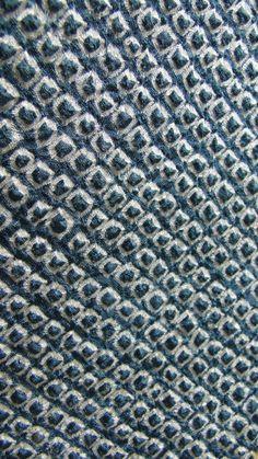 Japanese Haori Jacket. Blue Green Gray Shibori Silk. Coat Worn Over Kimono. (Shop Ref: 212). ¥7,000, via Etsy.