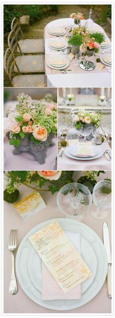 French Impressionist style wedding shoot | http://www.100layercake.com/blog/2012/01/24/french-impressionist-style-shoo/