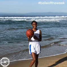This week Retha Little, Red Tie '19, was featured in The Daily Breeze as Athlete of the Week! Great job, Retha. #belleoftheweek