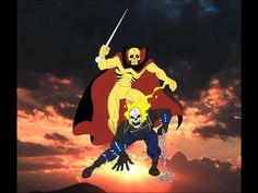 Ghost Rider vs Fantaman by ~FaGian on deviantART