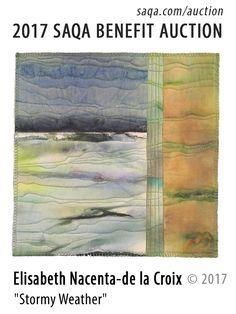 Art quilt by Elisabeth Nacenta-de la Croix