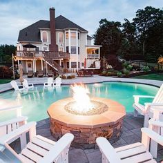 Backyard Design With Pool And Fire Pit Area Firepit Poolarea Modern Fire Pit Ideas For Your Unforgettable Out Backyard Pool Designs Modern Fire Pit Fire Pit