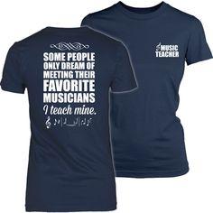 Music Teacher - I Teach Mine