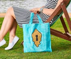 Blue Pool, Reusable Tote Bags, Etsy Shop, Trending Outfits, Unique Jewelry, Handmade Gifts, Check, Shopping, Kid Craft Gifts