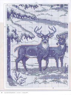 Xmas Cross Stitch, Cross Stitch Art, Cross Stitch Alphabet, Cross Stitch Animals, Cross Stitch Designs, Cross Stitching, Cross Stitch Embroidery, Cross Stitch Patterns, Graph Crochet