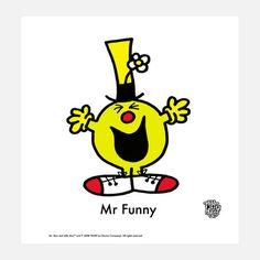Mr Funny Print, 20€, now featured on Fab.