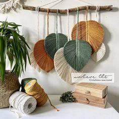Macrame Wall Hanging Patterns, Macrame Patterns, Diy Home Crafts, Diy Home Decor, Macrame Design, Macrame Projects, Wall Decor, Decor Room, Decoration
