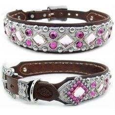 Fancy Dog Collars | Pink Luxury Designer Dog Collars & Leads