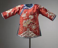 Jifu : robe dragon (Chine famille impériale jaune et haut fonctionnaires autres couleurs souvent le bleu)*