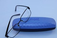 607e3d182e8 Float Milan 2720 Men s Rectangle Eyeglasses Black Titanium Optical Frame  Large  113.95 Optical Frames