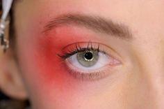 Rainbow Eye Make-up Trend For SS17   British Vogue