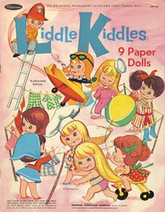 Paper Dolls~Liddle Kiddles - Bonnie Jones - Picasa Web Albums