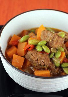 Ming Tsai's Miso Pork Stew: love it!