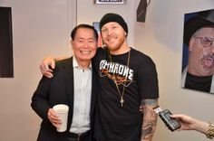 George Takei with Jason Ellis