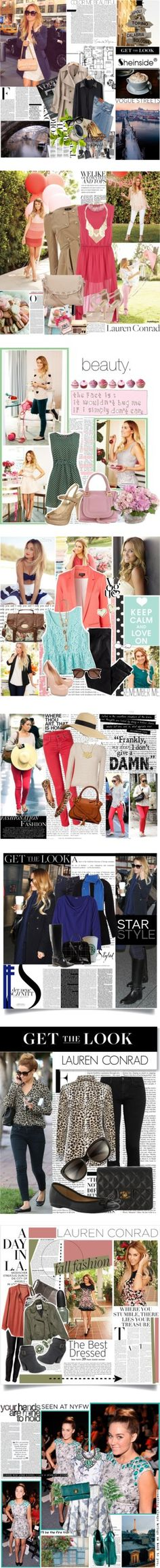 """Fashion Flashback: Happy 27th Birthday, Lauren Conrad!"" by polyvore-editorial ❤ liked on Polyvore"