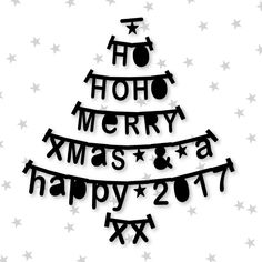Kerstkaart letterslinger boom , verkrijgbaar bij #kaartje2go voor € 1,89 Christmas Room, Christmas Holidays, Christmas Decorations, Holiday Decor, Christmas Tree Veggie Tray, Seasons Of The Year, Winter Wonder, Puppy Chow, Lassi
