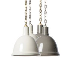 HELP - I need a kitchen to use these in.  I'm in love.  Call me if you need your kitchen gutted and like these pendants.... Clay Pendant - Shop Greige