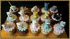 Cupcakes tema pet shop  gatinhos