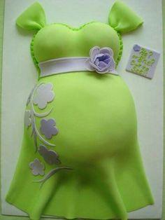 Gâteau femme enceinte