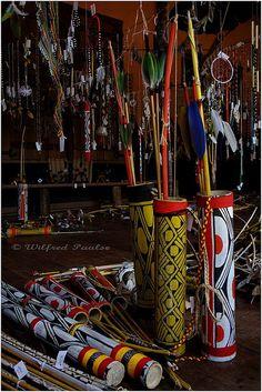 Indios do Brasil Kuikuro 12 by Wilfred Paulse, via Flickr