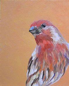 Parakeet by Micki Thomas Oil ~ 10 x 8
