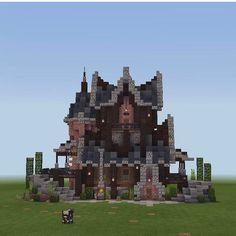 Minecraft Medieval House, Minecraft Shops, Minecraft Cottage, Cute Minecraft Houses, Minecraft City, Minecraft Plans, Minecraft House Designs, Minecraft Construction, Amazing Minecraft