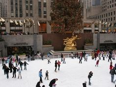 Go here in the winter. | 22 Ways To Prove You're A Tourist In New York City