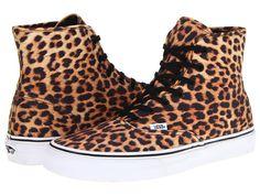 Vans Authentic Leopard Hightops