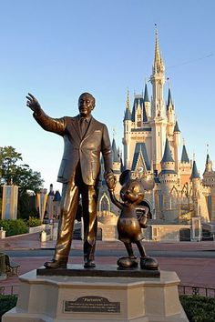 Walt and Mickey- Would love to go back when I have my own Family!