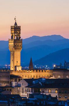 Palazzo Vecchio in Florence - Tuscany, Italy Florence Tours, Florence Tuscany, Palazzo, Places To Travel, Places To Visit, Best Places In Italy, Toscana Italia, Voyage Europe, Italy Travel