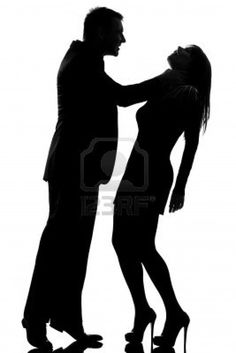 violence against women random do good w  one caucasian couple man strangulate w expressing domestic violence in studio silhouette isolated on white background