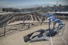 Centerstage: SCI-Arc Graduation Pavilion / Oyler Wu Collaborative,© Dwayne Oyler