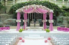 Pink Dome Front Mandap